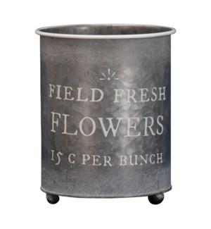 FIELD FRESH FLOWERS PLANTER