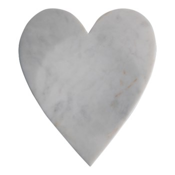 MARBLE HEART SPOON REST