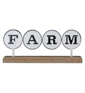 FARM DECORATIVE ACCENT