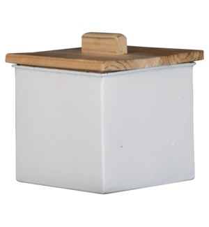 BLANCA CANISTER WHITE