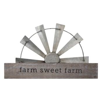 SWEET FARM WINDMILL WALL ART