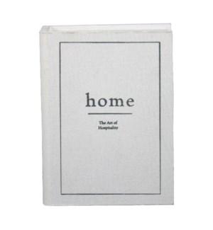 HOME BOOK DECORATIVE BOX