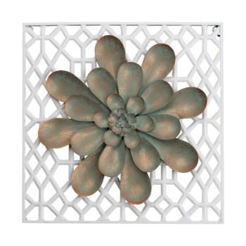 PATINA FLOWER WALL ART
