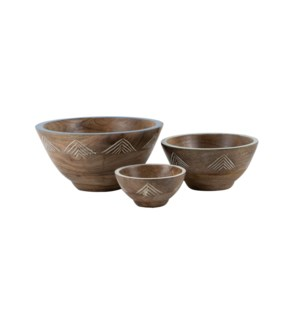 NIKO BOWLS, SET OF 3