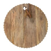 CARVED ROUND BOARD