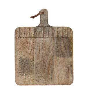 CARVED CUTTING BOARD WIDE