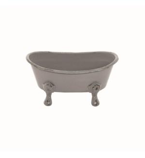 MINI BATHTUB PLANTER, GRAY