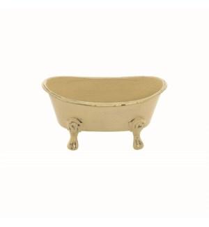 MINI BATHTUB PLANTER, YELLOW