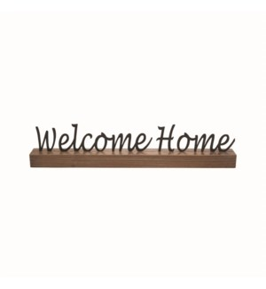 WELCOME HOME WORD BLOCK