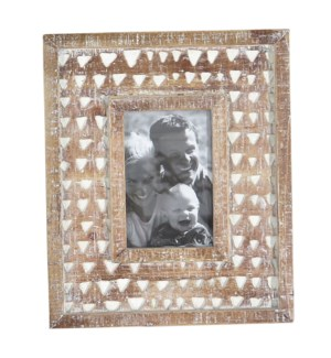 4X6 CARVED PHOTO FRAME