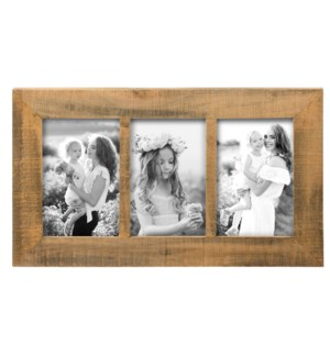 4X6 THREE PHOTO RIPLEY FRAME