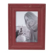 5X7 DALTON PHOTO FRAME RED