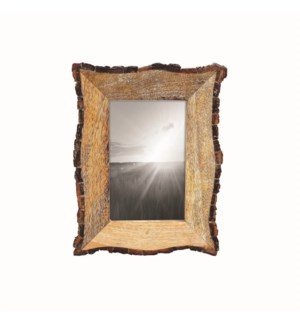 4X6 LIVE EDGE PHOTO FRAME
