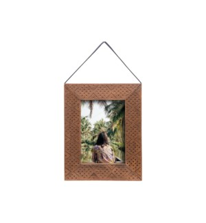 5X7 HANGING ETCHED PHOTO FRAME