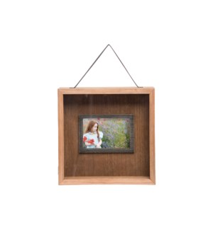 4X6 SHADOW BOX PHOTO FRAME