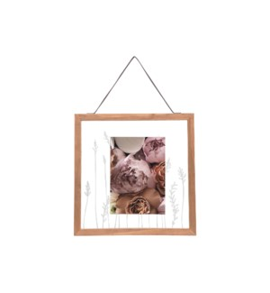 5X7 PRAIRIE FLOATING PHOTO FRAME
