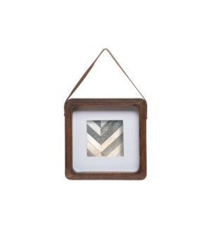 4X4 SQUARE HANGING PHOTO FRAME