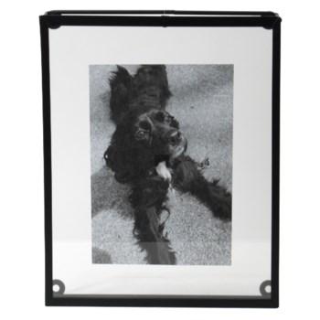 8X10 OVERSIZED FLOATING PHOTO FRAME BLACK