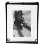 4X6 OVERSIZED FLOATING PHOTO FRAME BLACK