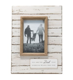 4X6 JOLENE DAD PHOTO FRAME