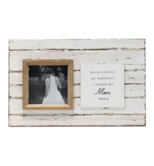 4X4 JOLENE MOM PHOTO FRAME