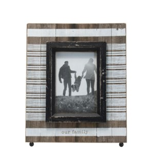 4X6 LANE OUR FAMILY PHOTO FRAME