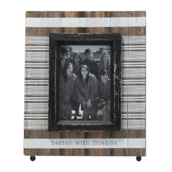 4X6 LANE BETTER WITH FRIENDS PHOTO FRAME