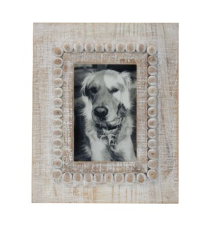 4X6 GIGI PHOTO FRAME WHITE