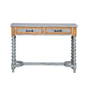 LOUIE CONSOLE TABLE SLATE