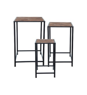 MASON ACCENT TABLES, SET OF 3