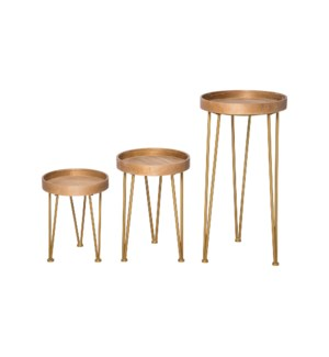 HAIRPIN NESTING TABLES, SET OF 3