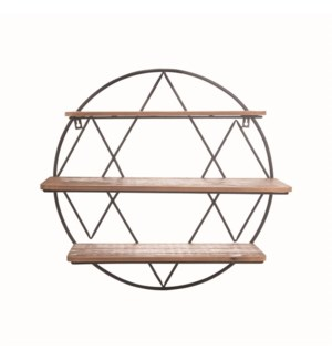 DIAMOND ROUND SHELF