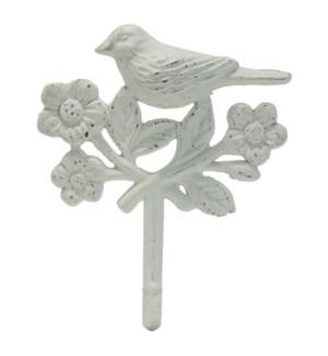 FLORA BIRD WALL HOOK