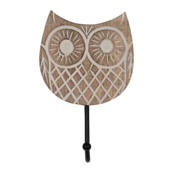 TWYLA OWL WALL HOOK