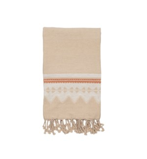 HAND WOVEN THEA THROW