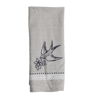 SOARING BIRD TEA TOWEL