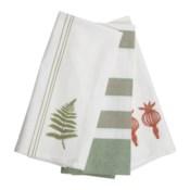 ASHER STRIPE TEA TOWELS, SET OF 3