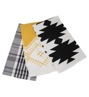 PLAID NELLIE TEA TOWELS, SET OF 3