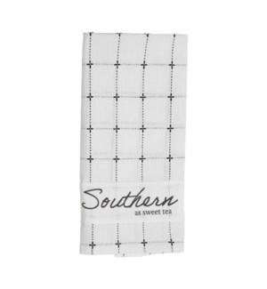 SOUTHERN AS SWEET TEA TOWEL