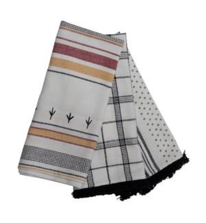 COOPER ELLERY TEA TOWELS, SET OF 3