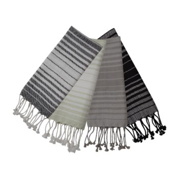 MADISON TEA TOWELS, SET OF 4