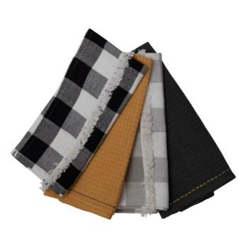LIAM TEA TOWELS, SET OF 4