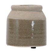 WYATT VASE SMALL BEIGE
