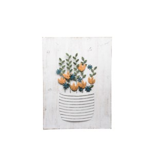 POTTED PLANT WALL ART