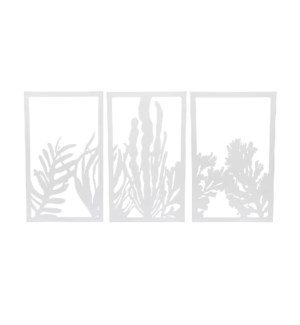SEAWEED PANEL WALL ART, SET OF 3