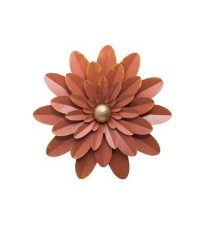 HANNA WALL FLOWER TERRACOTTA