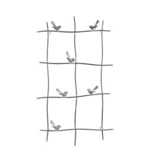 FLORA BIRD WALL ART