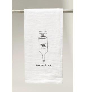 Bar Towel, Screwed Up
