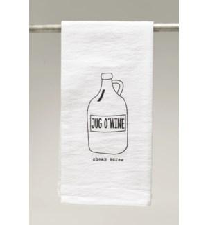 Bar Towel, Cheap Screw