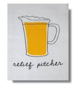 Bar Towel, Beer, Relief Pitcher